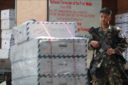 Rebeldes comunistas atacan convoy que transporta las máquinas de voto electrónico