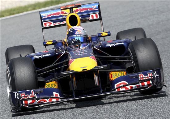 Los Red Bull los mejores tiempos en la última libre, Alonso, octavo