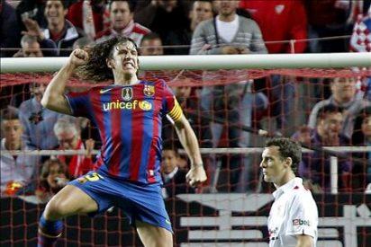 2-3. El Barcelona cumplió en Sevilla pero deberá esperar una semana para ser campeón