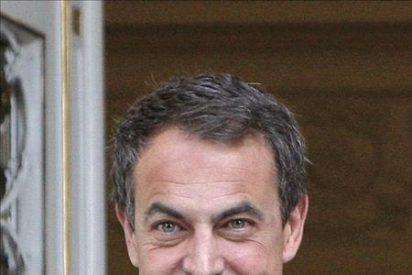 Zapatero visita al Rey en el hospital Clínic de Barcelona