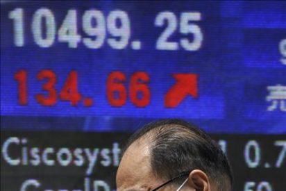 El Nikkei repunta gracias al millonario respaldo al euro