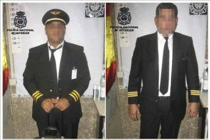 """Detenidos en Barajas dos """"falsos pilotos"""" que llevaban más 50 kilos cocaína en maletines"""
