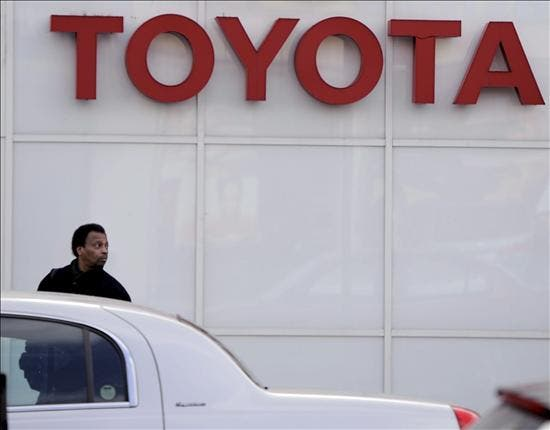 El fabricante japonés Toyota ganó 1.778 millones de euros en el año fiscal