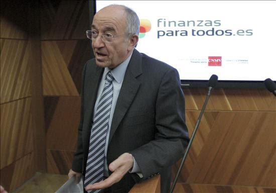 Fernández Ordóñez dice que el aumento del déficit está relacionado con el mercado laboral