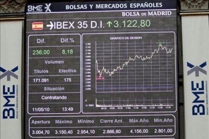 La bolsa española baja el 3,32 por ciento afectada por la recogida de beneficios