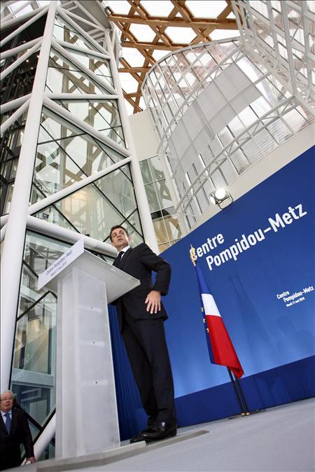 El Pompidou de París se descentraliza e instala en Metz un Centro hermano