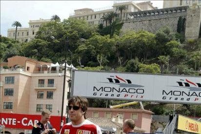Fernando Alonso, el mejor tiempo en la primera sesión libre del GP de Mónaco