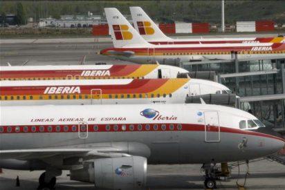 Iberia pierde 52 millones en el primer trimestre de 2010, un 44 por ciento menos