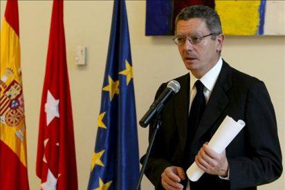Gallardón afirma que el adelanto de las elecciones depende de los socios del Gobierno