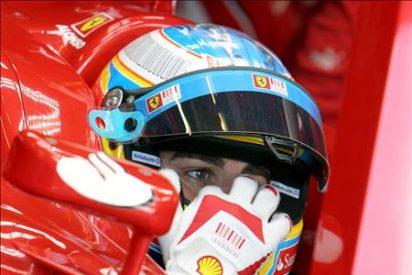 Alonso se estrella en la última sesión de libres