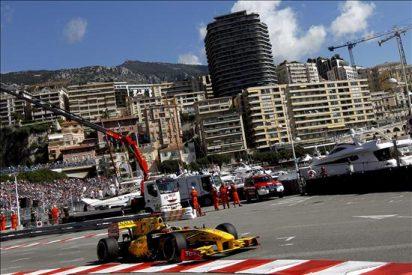 Kubica el mas rápido en última sesión libre, Alonso, accidentado, decimosexto