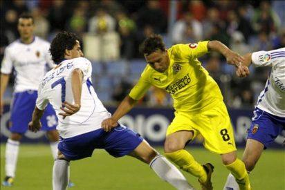 3-3. El Villarreal no pasa del empate en Zaragoza y frustra sus opciones europeas