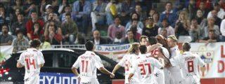 2-3. Rodri mete al Sevilla en la Liga de Campeones en el último minuto