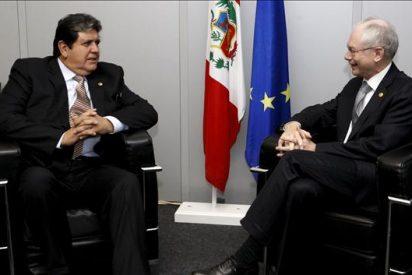 Alan García habló con Van Rompuy sobre el fortalecimiento de la relación UE-Perú
