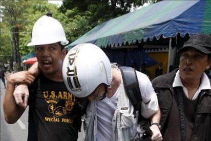 """El Ejército da por finalizado el desalojo de los """"camisas rojas"""" en Bangkok"""