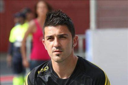 David Villa traspasado al Barcelona por cuarenta millones de euros