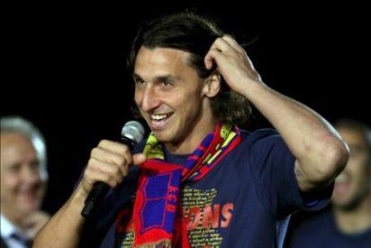 Begiristain garantiza la continuidad de Ibrahimovic y de Bojan en el Barcelona