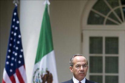 Calderón concluirá su visita de Estado a EE.UU. con un discurso ante el Congreso