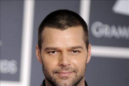 Ricky Martin reaparece en Nueva York en un acto promocional de Univisión
