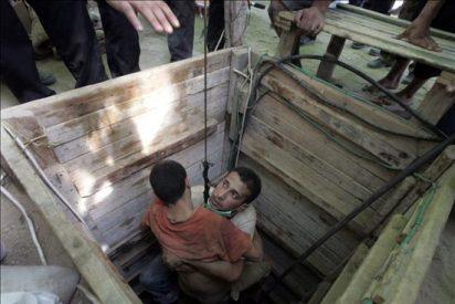 El Ejército israelí bombardea túneles en el norte y sur de la franja de Gaza