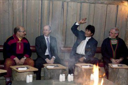 Morales llama a los pueblos indígenas a combatir el capitalismo para salvar la Tierra