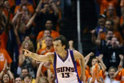 118-109. Stoudemire, Nash y la defensa dan el primer triunfo a los Suns