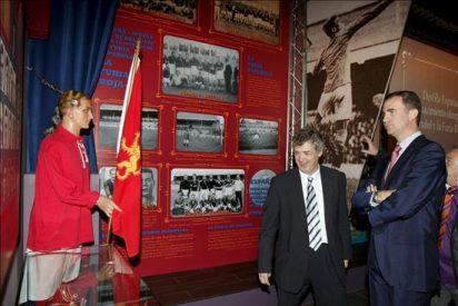 El Príncipe Felipe inaugura el Museo de la Selección