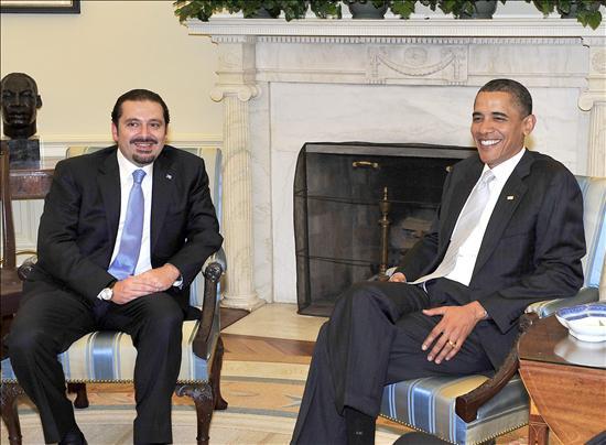 Obama traslada a Hariri su preocupación por el envío de armas iraníes a Hizbulá