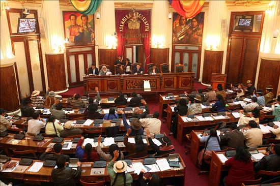 La derecha boliviana retrasa pero no frena la ley de Morales contra los gobernadores