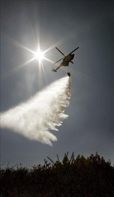 Los incendios en 2010, un 50 por ciento menos que la media de la última década