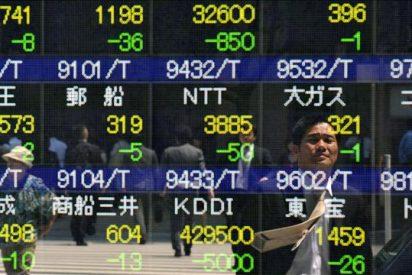 El índice Nikkei baja 76,57 punyos el 0,80 por ciento hasta 9.446,09 puntos