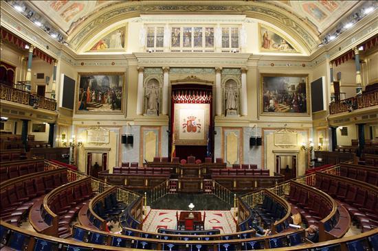 Las Mesas del Congreso y del Senado aprobarán la bajada de sueldos entre el 10 y el 15 por ciento
