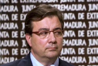 La Guardia Civil interceptó el coche oficial de Fernández Vara por circular a 180 km/h