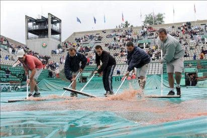 Se reanuda el juego en Roland Garros