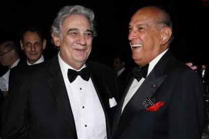 Reconocen la carrera y la labor humanitaria del tenor español Plácido Domingo