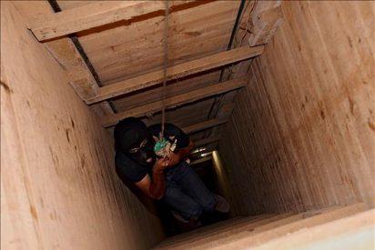Mueren seis palestinos en la explosión de un túnel entre Gaza y Egipto