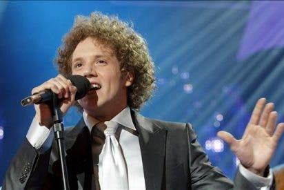 """Un intruso se cuela en el """"Algo pequeñito"""" de Daniel Diges en Eurovisión"""