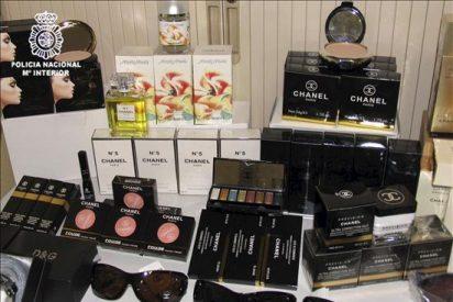 Intervenidos en Leganés 11.000 cosméticos falsos de reconocidas marcas