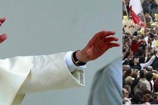 El Papa llega a Turín para venerar la Sábana Santa