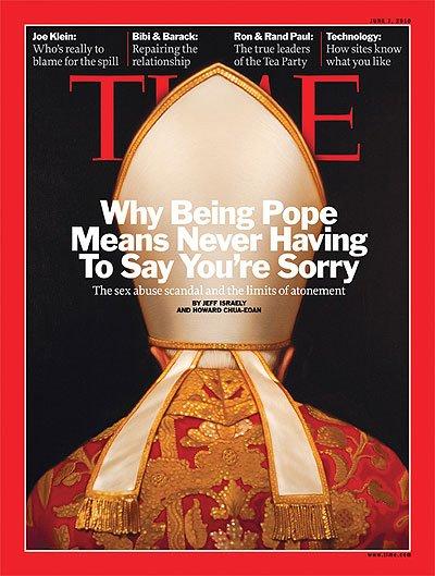 El Papa, en la portada de la revista Time