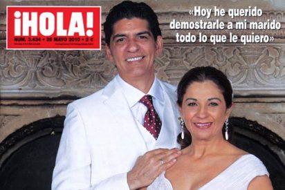 Lolita Flores y Pablo Durán, una boda de arte, emoción y recuerdos