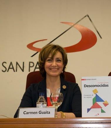 "Presentación de ""Desconocidas"" de Carmen Guaita"