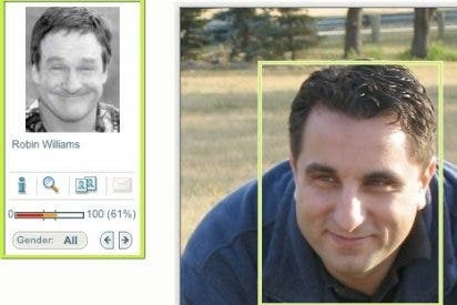 Tres buscadores para encontrar caras de famosos y desconocidos