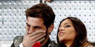 Sara Carbonero e Iker Casillas muy enamorados en el Masters Series de Madrid