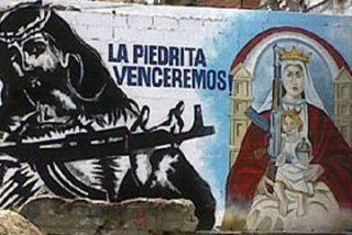 Jesucristo y María, con kalashnikov en Caracas