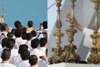"""El Papa en Lisboa: """"Ningun poder adverso podrá destruir la Iglesia"""""""