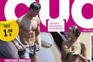 Cristiano Ronaldo, de vacaciones con nueva acompañante