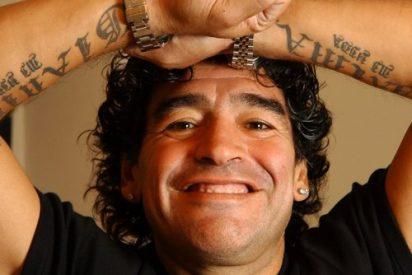 Maradona se desnudará en el Obelisco si Argentina gana el Mundial