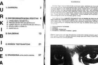 Documentos internos de ETA instruyen a los terroristas sobre cómo denunciar torturas falsas para eludir a la Justicia