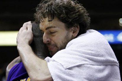 Gasol y los Lakers, como un tiro